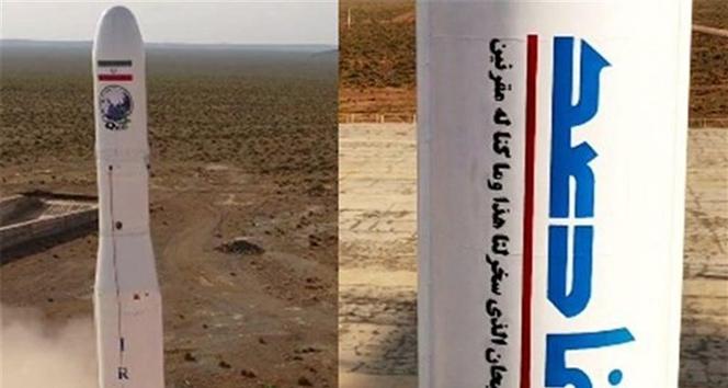 İran ilk askeri uydusunu uzaya fırlattı